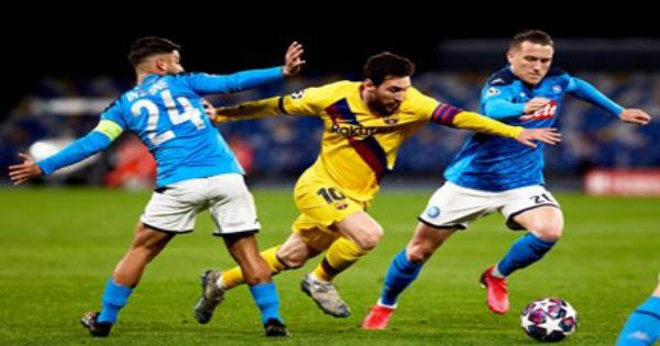 مباراة برشلونة ونابولي كورة لايف يلاشوت