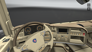 Scania leather interior (1.7.1)