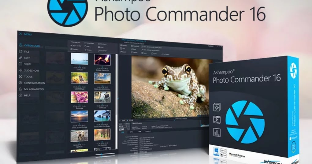 تحميل برنامج Ashampoo Photo Commander 16.0.6