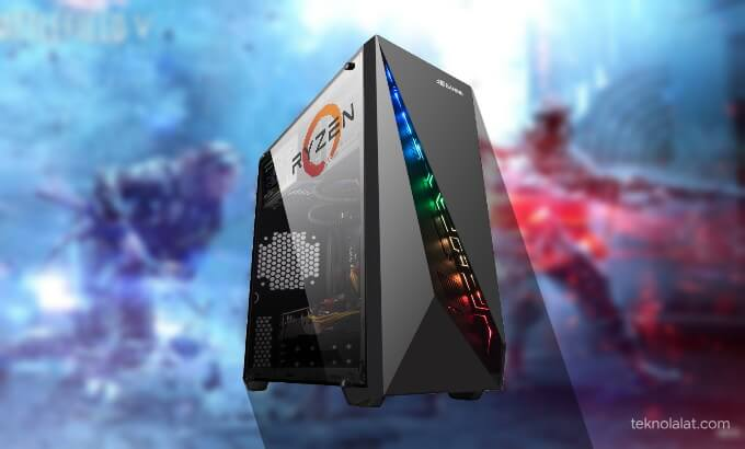 Rakit PC Gaming 5 Jutaan 2020 AMD Ryzen