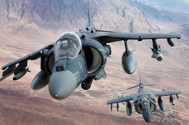 BAE Systems contract support Harrier