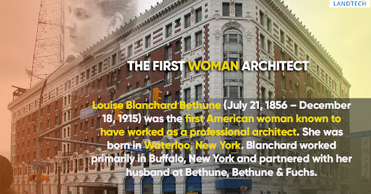 First woman architect in the world