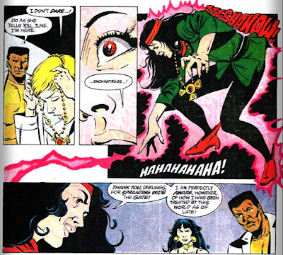 panels from Suicide Squad v1 #8 (1987). Property of DC comics.