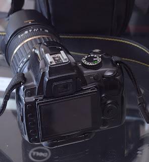 Kamera Nikon D5000 Lensa Tamron 18-200mm XR