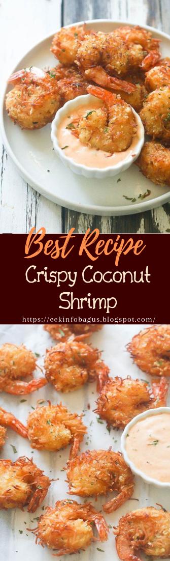 Crispy Coconut Shrimp #healthyfood #dietketo #breakfast #food