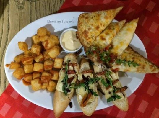 tapas restaurante Bodega Sofía Bulgaria 1