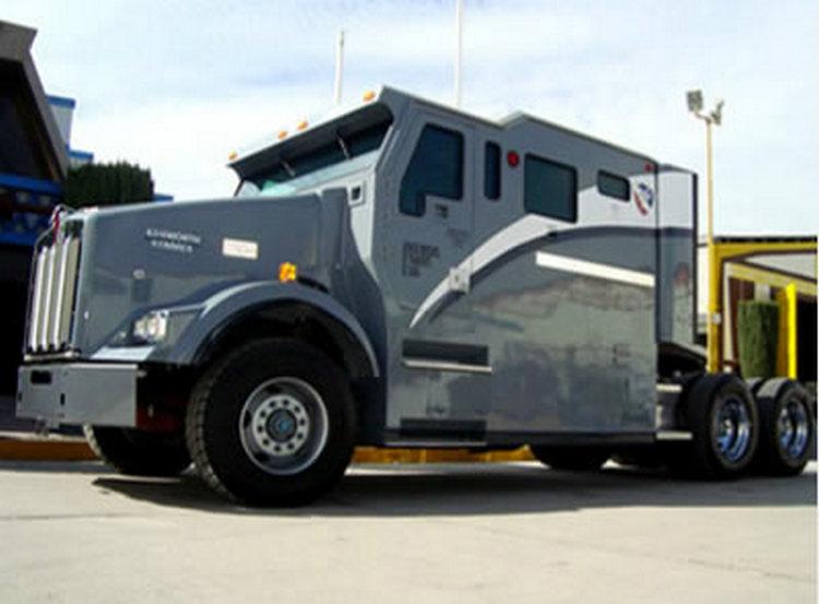 Tendencia a la alza en el blindaje de tractocamiones tras el incremento de robo de camiones.