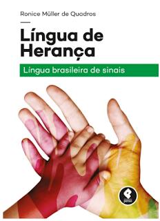 livro Linguas de herança de Ronice Muller de Quadros