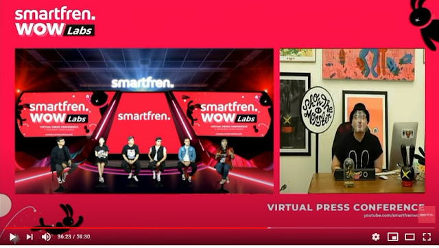 launching smartfren wowlabs