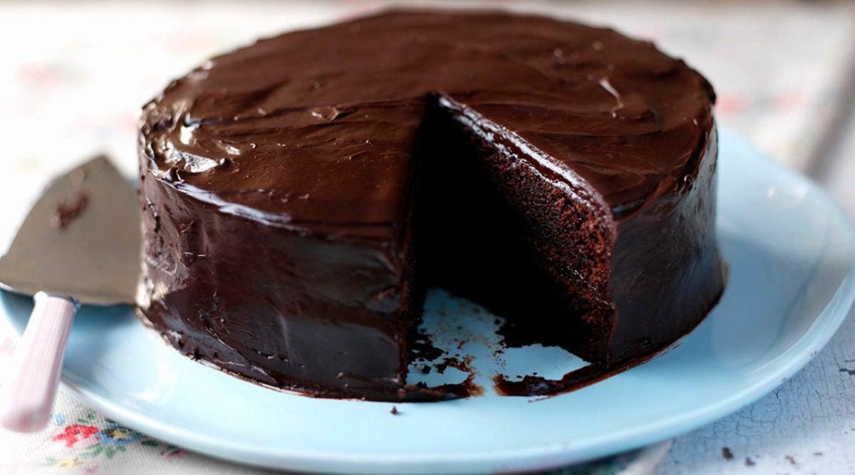 La recette du gâteau au chocolat, sans sucre, sans beurre ...