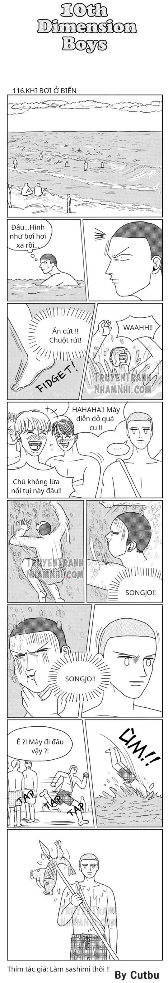 10th Dimension Boys (full bộ) #116: Khi bơi ở biển