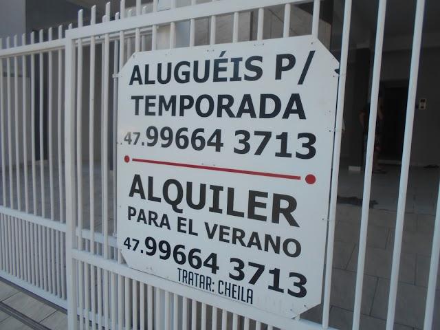 Aluguel de casa de verão em Itapema