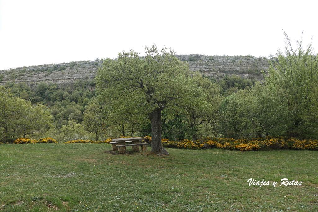 Área recreativa de Covalagua