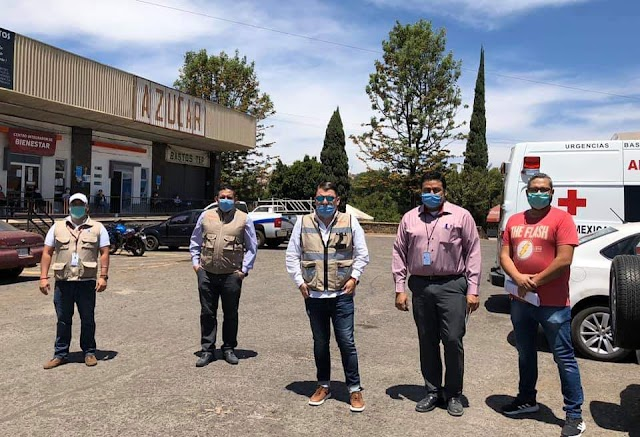 Realiza equipo de Hugo Bravo pruebas de COVID-19 en Los Altos