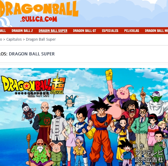 Dragonball Sullca.com