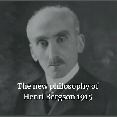 hilosophy of Henri Bergson