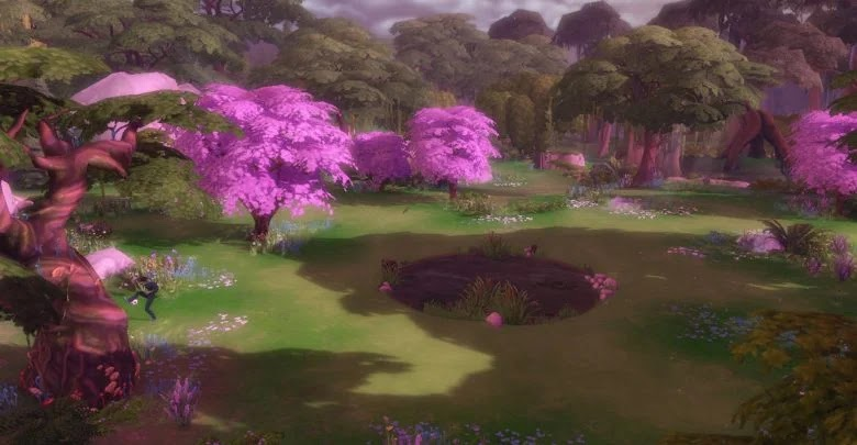 How to go to Wild Glade in The Sims 4
