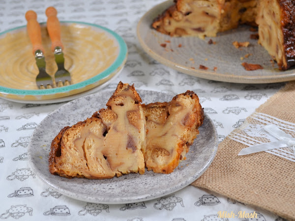 Десерт с козунак