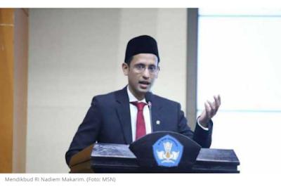 Mendikbud Nadiem Makarim Terancam Dicopot Presiden, Warganet Sarankan Kembali ke Gojek