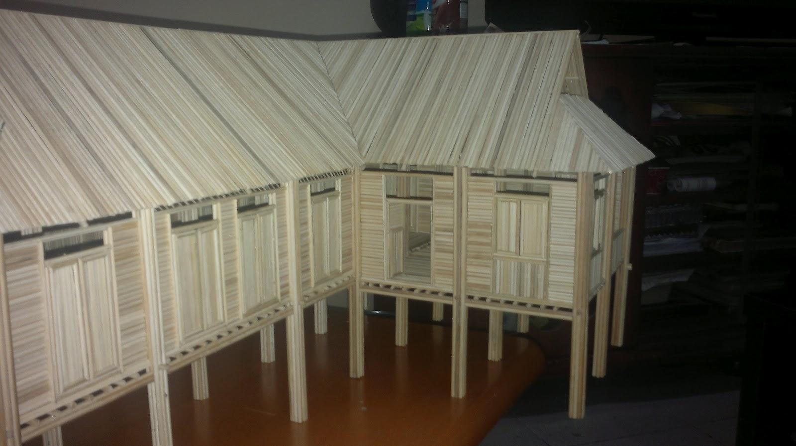 Gambar Terkini Rumah Projek 3 Setelah Semua Tingkap Berjaya Dilengkapkan