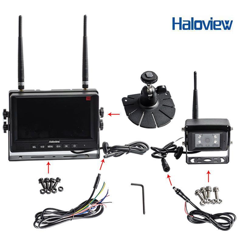 Wireless backup cam