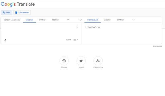 Google Translate Situs Translator Inggris Indonesia Terbaik
