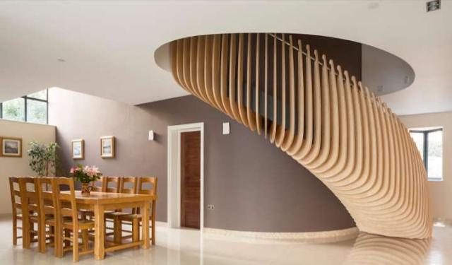 tangga rumah tingkat sederhana