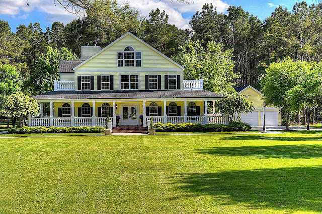 Plantation House-House Hunting- From My Front Porch To Yours