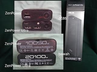 Perbedaan ZenPower Ultra dengan ZenPower biasa