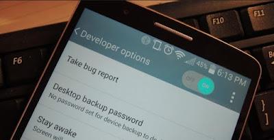 29 Fungsi Menu Setelan (Opsi Pengembang) Android