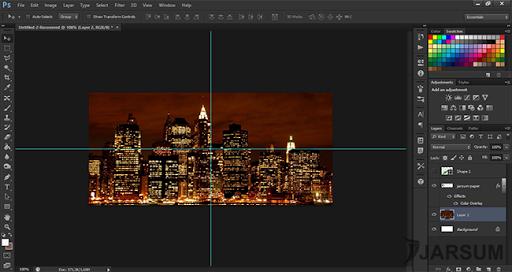 membuat wallpaper di photoshop