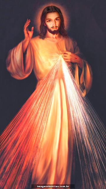Wallpaper da Divina Misericórdia para celular
