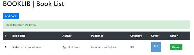 Update dan Delete Data di Code Igniter 4 dan Memulai Membuat Web Sederhana (P.3)