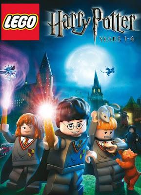 Capa do LEGO Harry Potter: 1-4 Years