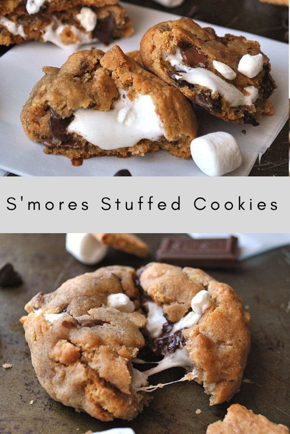 There's nothing better than these s'mores cookies. They are a constant family hit and so worth trying at least once!