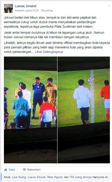 Mari Berlari Selincah Jokowi