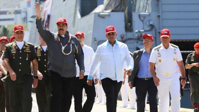 Maduro ordena ejercicios militares para defender el país