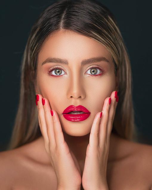 Woman Wanting Beautiful Nails