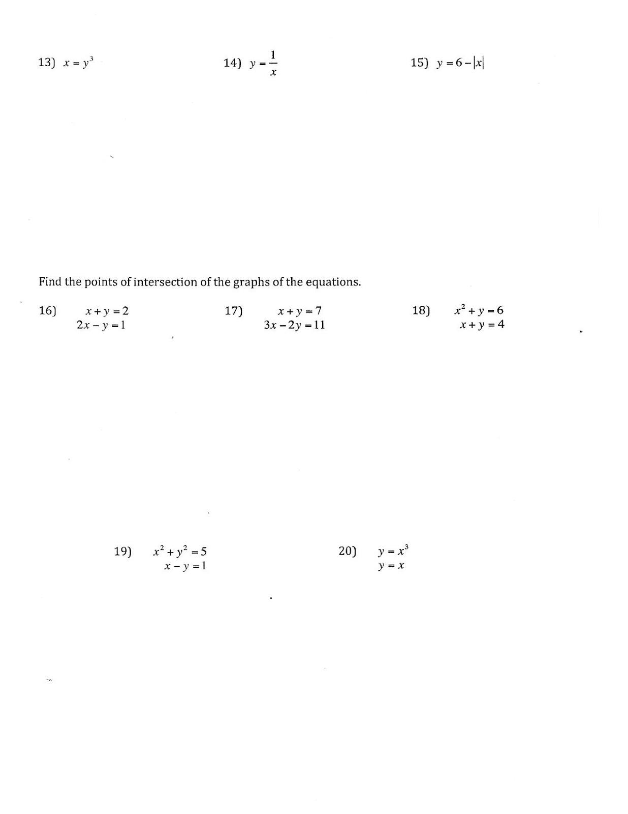 Mr Suominen S Math Homepage August