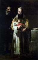 The Bearded Lady (Magdalena Ventura with Her Husband and Son) c. 1631 by baroque painter Jusepe de Ribera