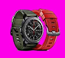 Samsung Gear S3 Active Silicone Band (Military Green)
