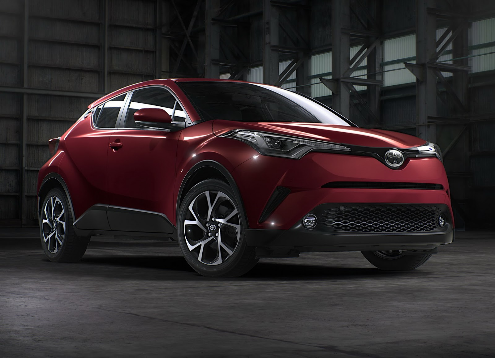 Toyota To Debut North America's 2018 C-HR At LA Show