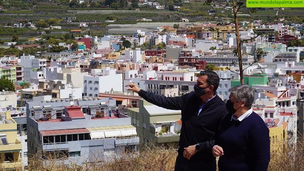 Los Llanos de Aridane tendrá un nuevo mirador en la Montaña Tenisca