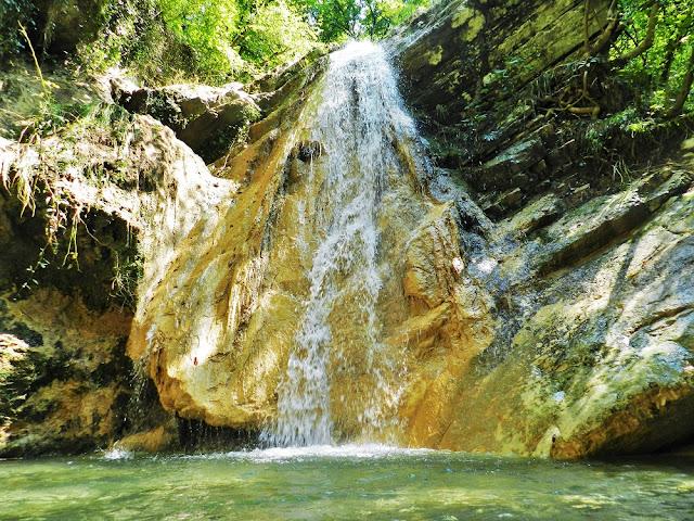 sentiero delle cascate franciacorta