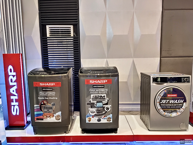 Washing machines under the Clean and Comfort Solution
