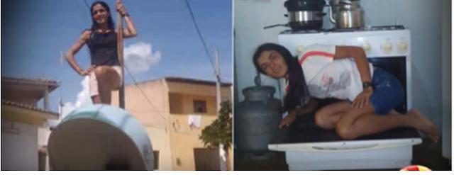 Ensaio fotográfico inusitado de mulher do Rio Grande do Norte surpreende e conquista a internet