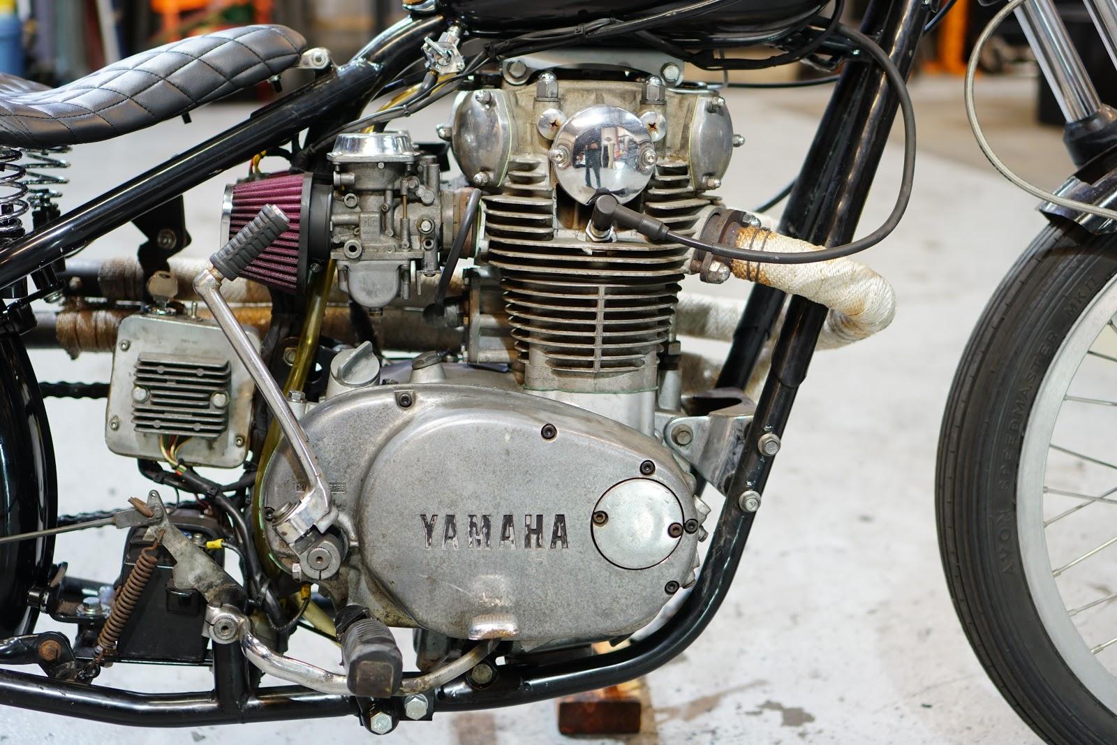 South Bay Street Machines: 1980 Yamaha XS650 Hardtail Rigid
