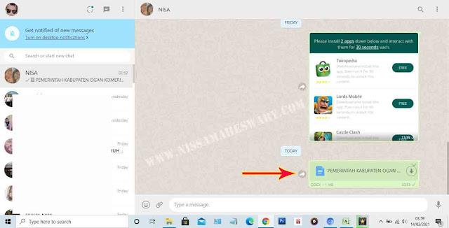 transfer file foto dari laptop ke hp