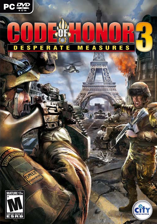 Code of honor 3: desperate measures (2009) pc | repack » скачать.