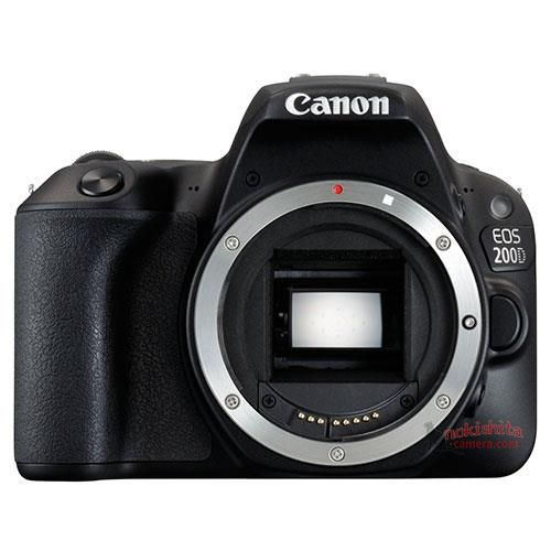 Canon EOS 200D, вид спереди